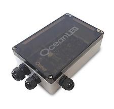 Ocean LED DMX mobile app controller and junction box