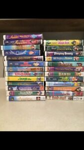 Disney and Family Movies VHS Lot 25