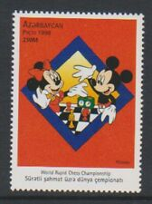 Azerbaijan - 1998, World Rapid Chess, Disney Mickey Mouse stamp - MNH - SG 440