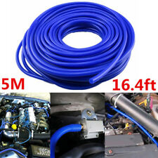 Blue Car Engine 4mm Silicone Vacuum Tube Hose Silicon Tubing 16.4ft 5Meters Kit