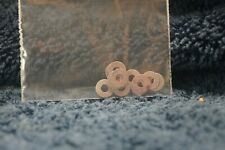 Made-Up Package Of 10 Steel Flat Washers By Unknown (SBN 1004)-HO Scale 216