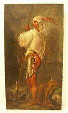 Soldat fantassin cavalier lancier aux plumes Charles ROYER soldier, knight c1920