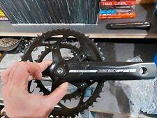 FSA Tempo 50/34 Crankset + BB - 165mm arms, 68mm Square Taper BB