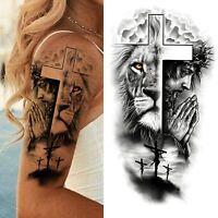 Arm tattoo mann kreuz