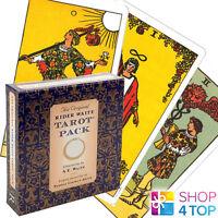 THE ORIGINAL RIDER WAITE TAROT PACK SET SMITH DECK CARDS BOX US GAMES NEW