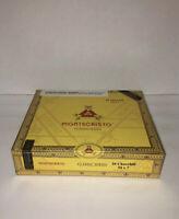 Montecristo Classic Series Churchill Wooden Cigar Box Humidor