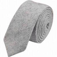 Hell Grau Fischgräten Herren Tweed / Wolle Skinny Schnürung. Sehr Gute Qualität.