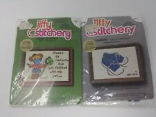 Jiffy Stitchery Please Be Patient & Sneakers Embroidery Kit 630 601A