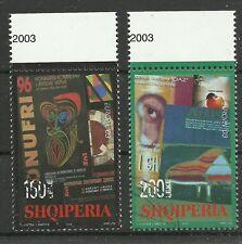 CEPT 2003/ Albanien MiNr 2928/29 o Ersttagstempel