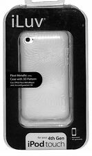 iLuv Flexi-Metallic (TPU) Case with 3D Pattern for iPod Touch 4th Generation