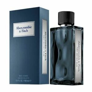 RRP £63 Brand New Sealed Abercrombie & Fitch First Instinct Blue EDT Spray 100ml