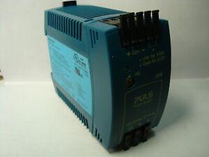 PULS ML30.106 POWER SUPPLY 36W DUAL OUTPUT 100-240VAC INPUT 12-15VDC OUTPUT NNB