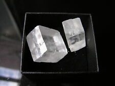 2 Boxed Iceland Spar Crystals - Optical Calcite.