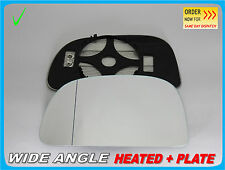 For Mitsubishi Space Star 1998-05 Wing Mirror Glass Aspheric HEATED Left #JB004