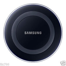 Genuine OEM Samsung Galaxy S7 S6 Edge Black Wireless Charging Pad