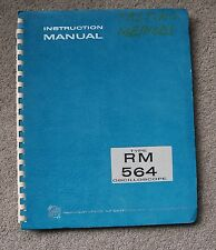 Tektronix TYPE RM 564 Oscilloscope Service Manual all Schematic, Parts: 070-415