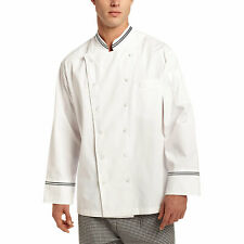 Chef Code Augustine Executive Chef Coat With Contrast Detail
