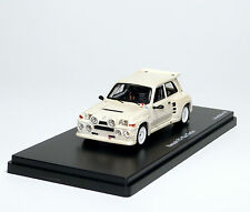 RENAULT 5 Maxi Turbo r5 RALLY Plain Body permuttweiß Pearl White Pro-R 1:43 le