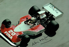 Arturo MERZARIO SIGNED Williams Cosworth MONACO 12x8 Photo AFTAL COA Autograph