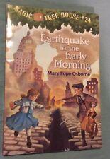 Magic Tree House #24 Earthquake In The Early Morning (PB, 2002)