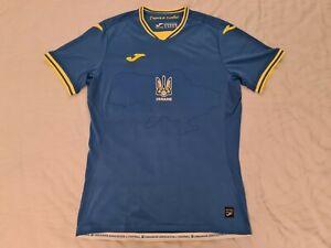 BNWOT 2021-22 Ukraine Away Shirt Medium Joma Football Euro 2020 Soccer Jersey