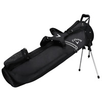 CALLAWAY HYPER LITE 1 PLUS DUAL CARRY STRAP GOLF STAND CARRY BAG / BLACK