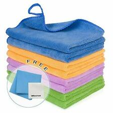 8PCS Premium Microfiber Cloth - Lint Free-Micro Fibers Towels 8PCS-12''x 12''
