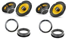 JL Audio C1-650x speaker upgrade for VW Golf Mk4 and Bora front and rear