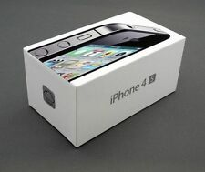 APPLE IPHONE 4S 16GB NEW Black UNLOCKED SMART PHONE Sealed Box