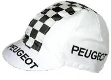 PEUGEOT RETRO CYCLING TEAM BIKE CAP -  Vintage - Fixed Gear - Made in Italy