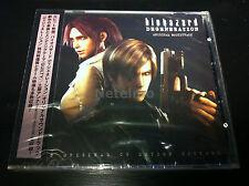 1039-40 Resident Evil Biohazard DEGENERATION Original CG MUSIC SOUNDTRACK 2 CD