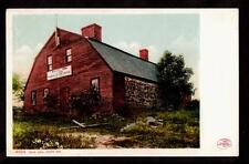 1901 old jail house building york maine postcard