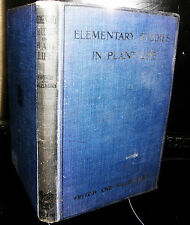 Elementary studies in plant life, F.E. Fritch. 1921. vintage book