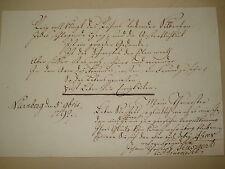 Johann Christoph KÜSPERT WUNSIEDEL Nürnberg Regensburg 1792 Stammbuch -  Blatt