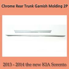 Chrome Rear Trunk Garnish Molding 2P for 2013 - 2014 the new KIA Sorento