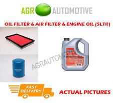 PETROL OIL AIR FILTER KIT + FS 5W40 OIL FOR NISSAN SERENA 1.6 97 BHP 1993-01