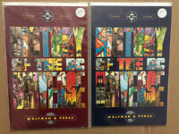 History Of The DC Universe Comic Books 1 & 2 George Perez Marv Wolfman VF/FN