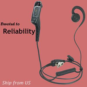 Two Way Radio Earpiece Swivel Headset for Motorola APX6000 DP4800 MTP850 XPR7550