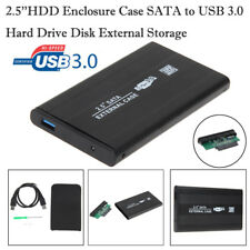 2.5''HDD Enclosure Case SATA to USB 3.0 Hard Drive Disk External Storage Laptop