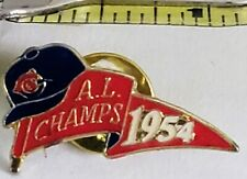 CLEVELAND INDIANS 1954 A L Champs (Sunoco #1 Of 4 From 1992 Set)  Lapel Pin Tac