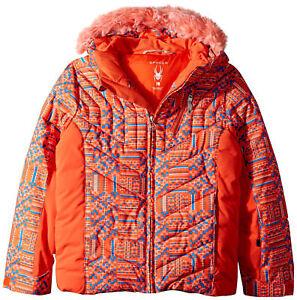 Spyder Girls Hottie Jacket, Ski Snowboarding Winter Jacket, Size 14 (Girl's),NWT