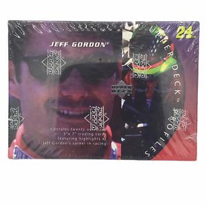 1996 Upper Deck Profiles Jeff Gordon Highlights of Career 5x7 Photos Factory Set