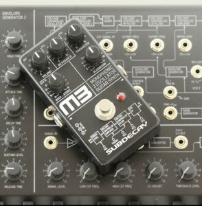 Subdecay M3 Monophonic Oscillator Guitar Synth Pedal roland ms20 boss   F/S