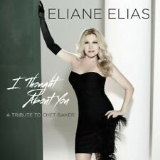 I Thought About You (Tribute To Chet Baker) - Eliane Elias (2013, CD NIEUW)