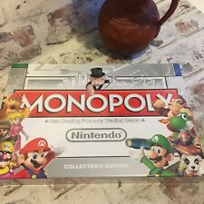 MONOPOLY NINTENDO COLLECTORS  EDITION BOARD GAME. BRAND NEW SEALED! Gift Idea