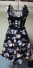 Black Pink Hyacinth Design JSK BTSSB Baby Lolita VG