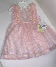 NWT Laura Ashley 12 Months Floral Dress/ Bloomers