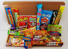 Large Sweet Hamper Gift Box Retro Mix Sweets & Candy Treats Present Birthday? UK