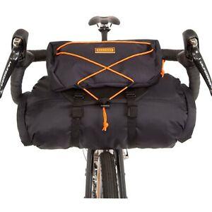 Restrap Bar Bag - Large 14L + 3L FOOD POUCH BLACK/ORANGE [