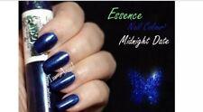 essence duo nail polish midnight date Blue Metallic Glitter